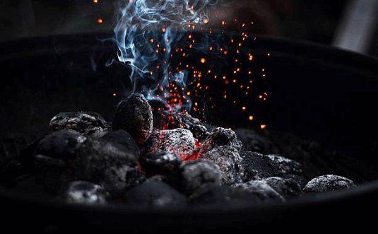 carbones y brasas