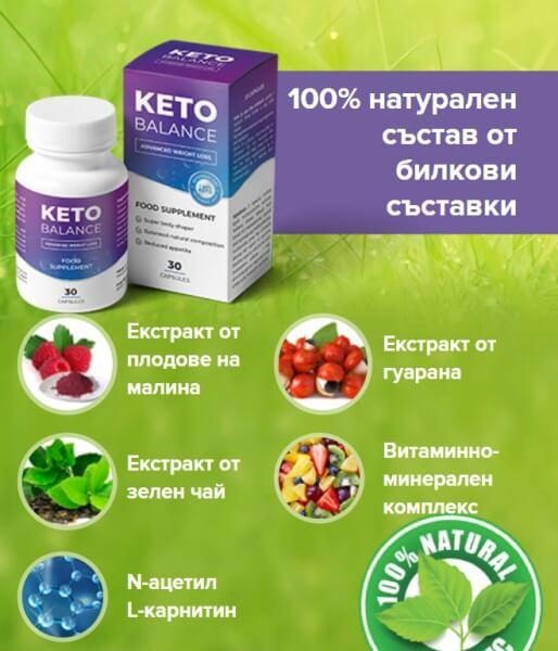 Ingredientes KetoBalance